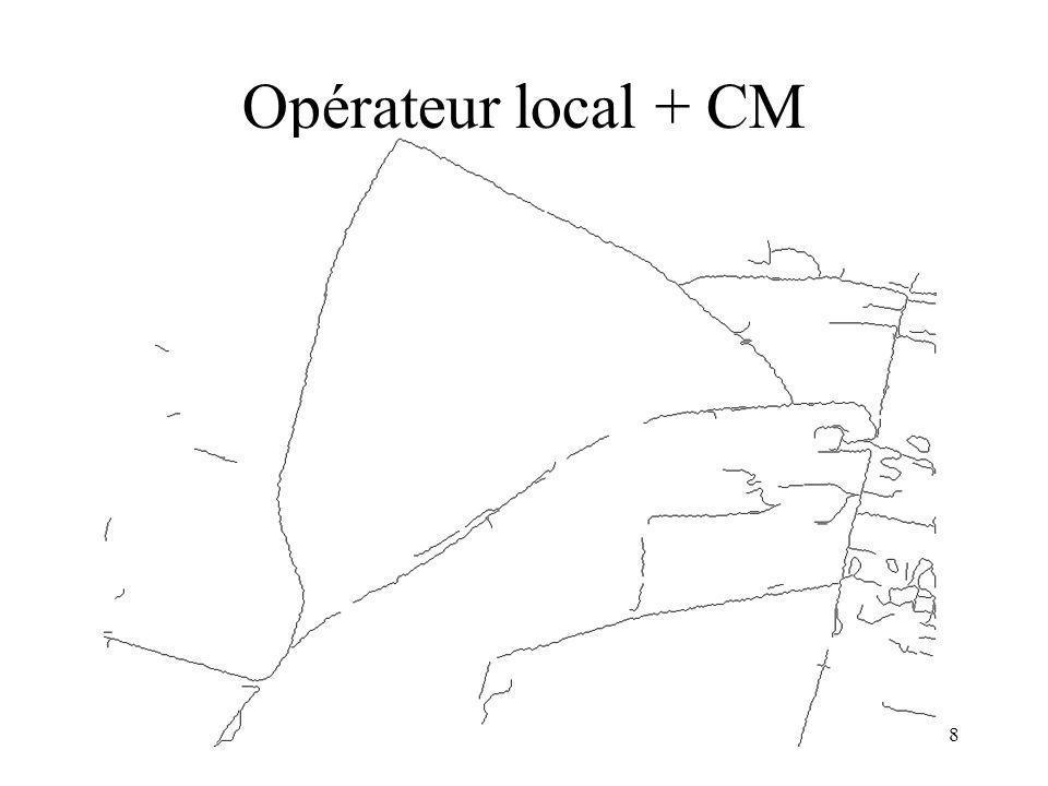 19 Extraction de Houppiers : PPM Objet : disque A priori : non recouvrement Données : Gaussiennes A : aire PhD : G.