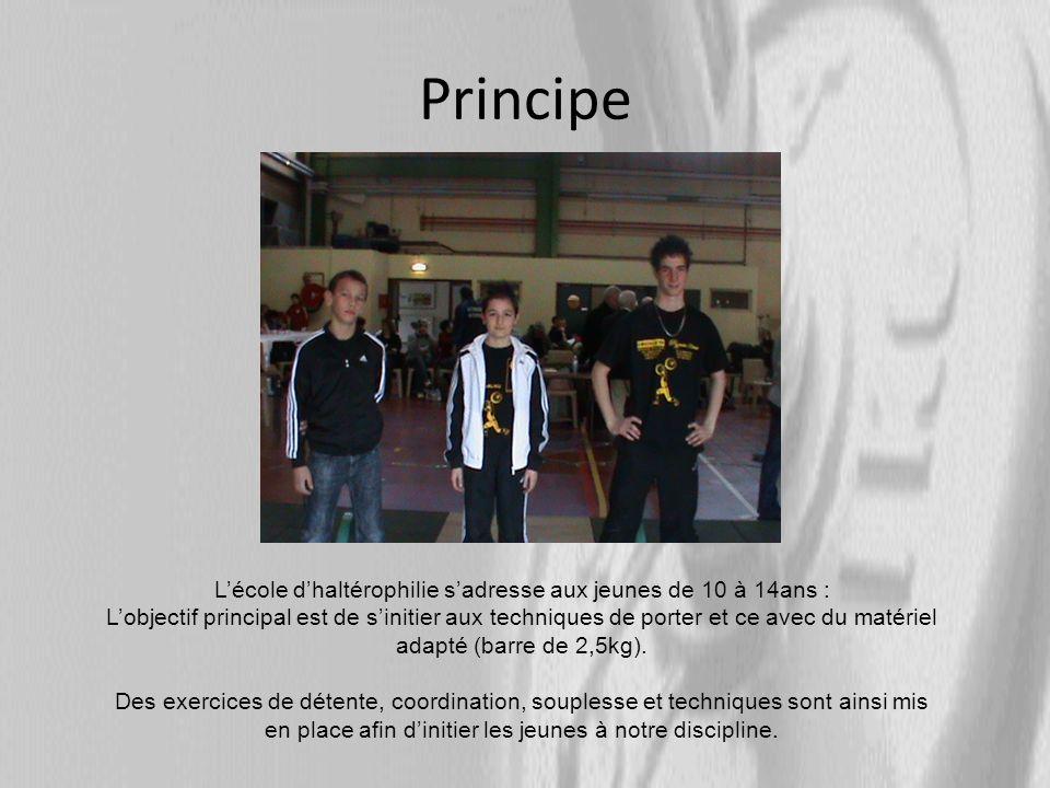 Une belle réussite Depuis plus de 20 ans, la section forme de jeunes athlètes à la pratique de lhaltérophilie.