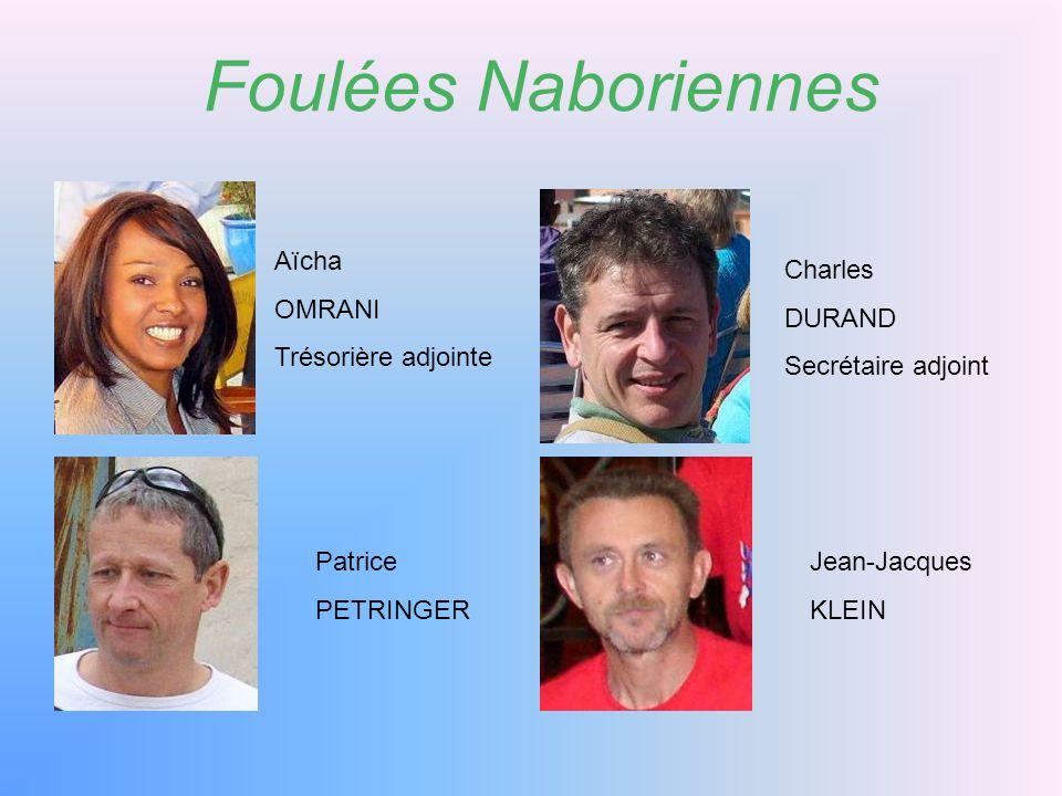 Foulées Naboriennes Luigi ROMANO Annick PETRINGER Roland NOMINE Wilfried WEYRATH Président