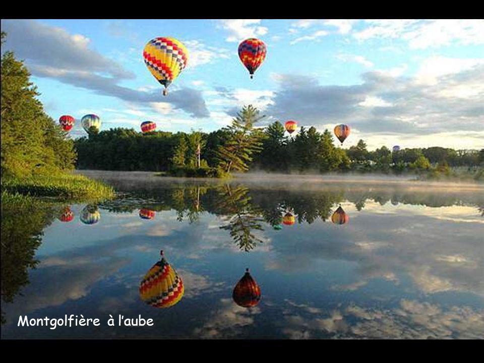 Lac dautomne aux USA en Ohio