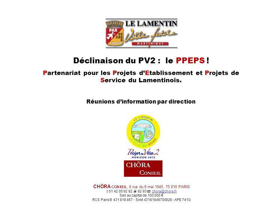 Déclinaison du PV2 : le PPEPS .