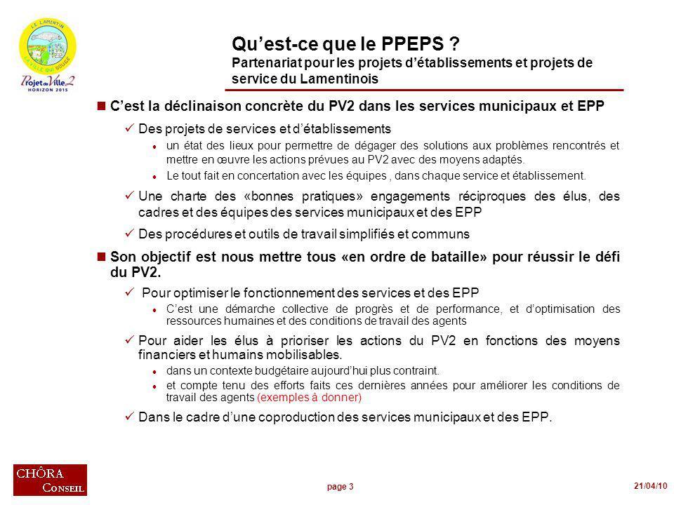 page 3 21/04/10 Quest-ce que le PPEPS .