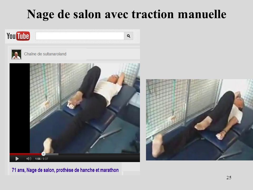 Nage de salon avec traction manuelle 25