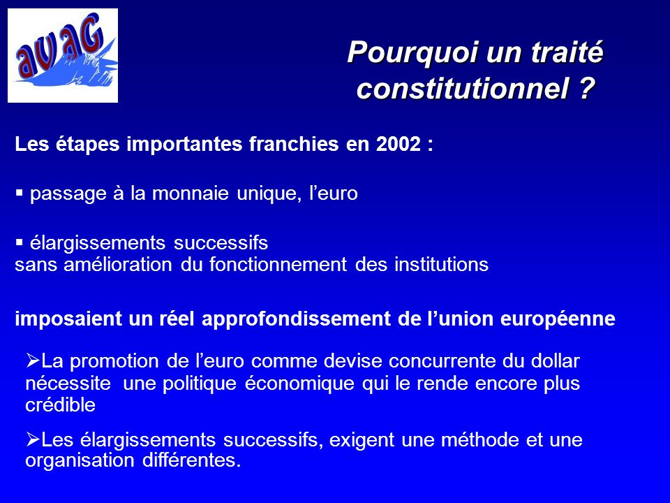 FONCTION LEGISLATIVE FONCTION BUDGETAIRE Lorganisation institutionnelle PARLEMENT EUROPEEN COMMISSION EUROPEENNE GRANDES ORIENTATIONS CONSEIL DES MINISTRES CONSEIL EUROPEEN