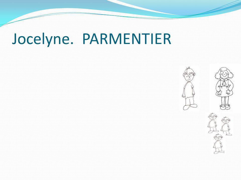 Jocelyne. PARMENTIER
