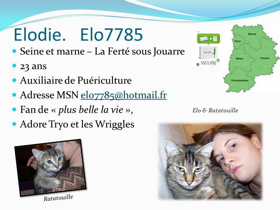 Emiliec 29 ans Habite près de Neufchâteau Adresse MSN m.235@hotmail.frm.235@hotmail.fr Cloé 6 ans Lorraine 4 ans Mitsy Rifi, fifi et loulou