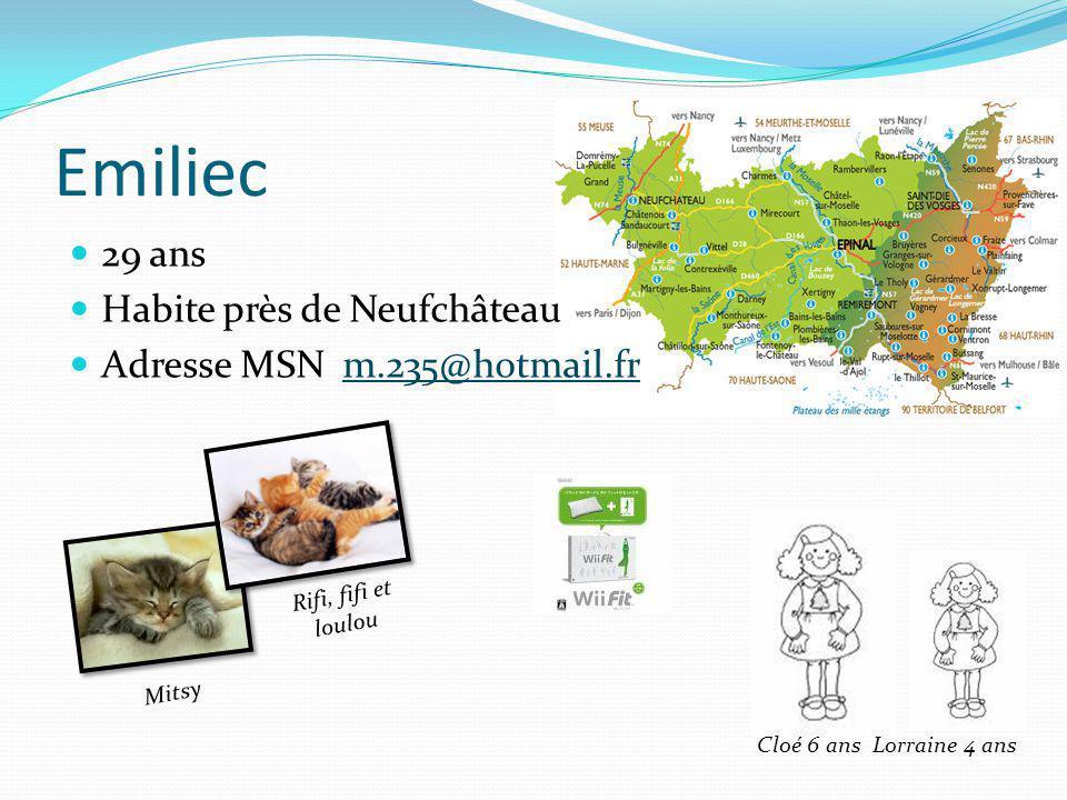 Laurence 37 ans Loire Atlantique Originaire de Bordeaux Formatrice Adresse MSN lorance44@hotmail.frlorance44@hotmail.fr Sarah 13 ½ ans Téquilla 11 ans Cartel 20 mois Franklin 4ans Laurence