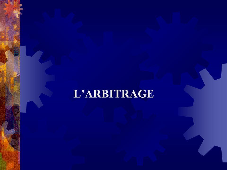 LARBITRAGE