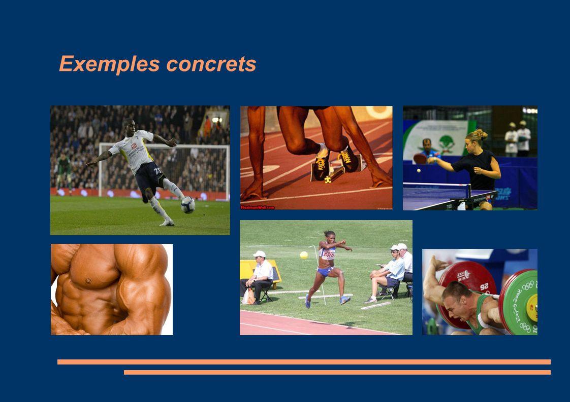 Exemples concrets