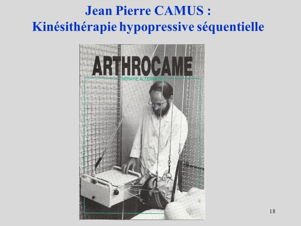 Jean Pierre CAMUS : Kinésithérapie hypopressive séquentielle 18