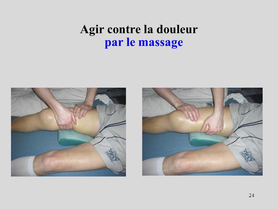 24 Agir contre la douleur par le massage