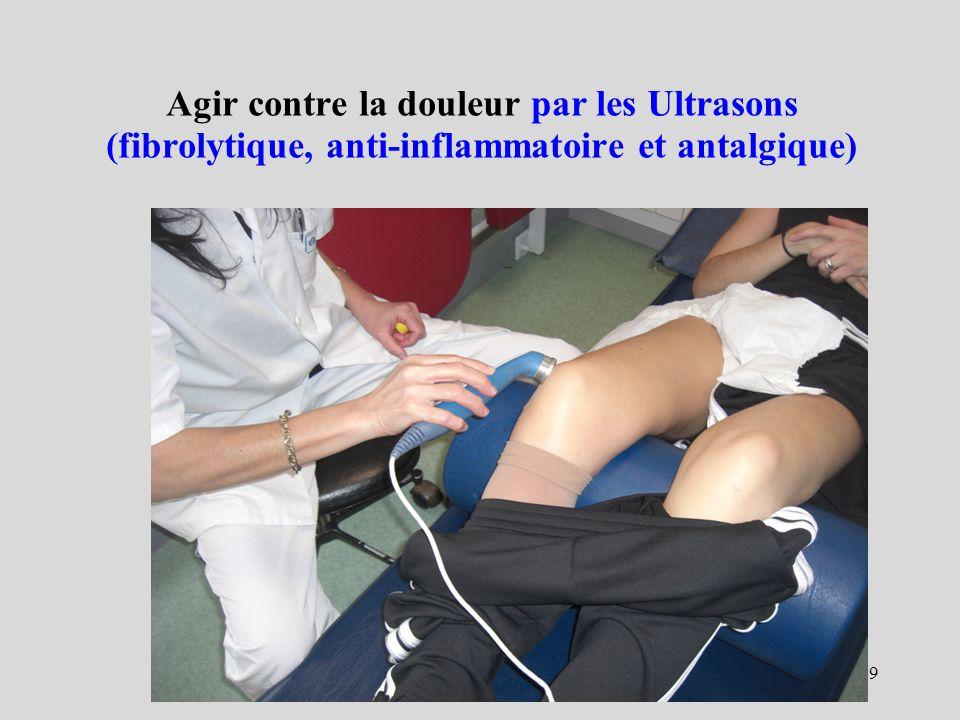 29 Agir contre la douleur par les Ultrasons (fibrolytique, anti-inflammatoire et antalgique)