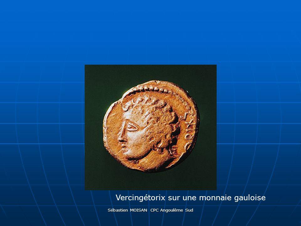 Sébastien MOISAN CPC Angoulême Sud Vercingétorix sur une monnaie gauloise