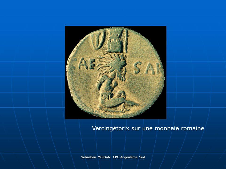 Sébastien MOISAN CPC Angoulême Sud Vercingétorix sur une monnaie romaine
