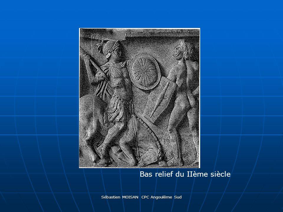 Sébastien MOISAN CPC Angoulême Sud Bas relief du IIème siècle