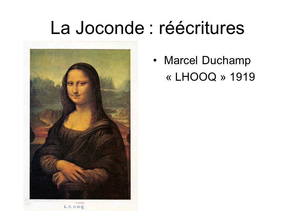 La Joconde : réécritures Marcel Duchamp « LHOOQ » 1919