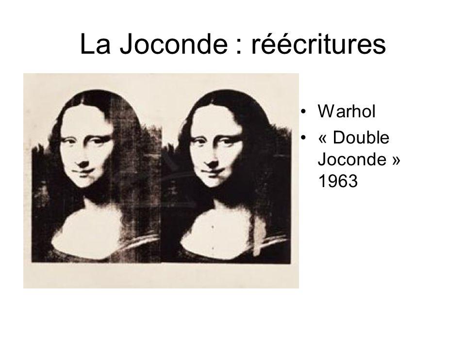 La Joconde : réécritures Warhol « Double Joconde » 1963