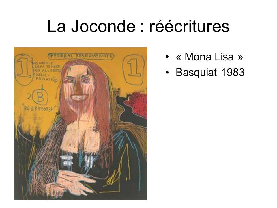La Joconde : réécritures « Mona Lisa » Basquiat 1983
