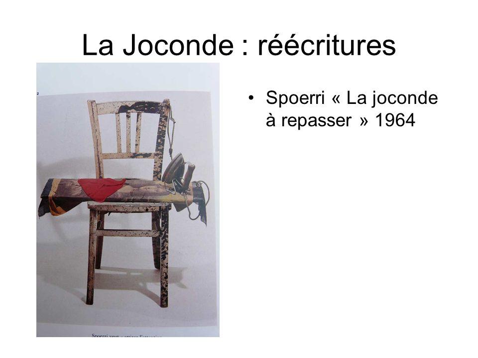 La Joconde : réécritures Spoerri « La joconde à repasser » 1964