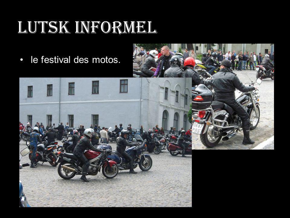 Lutsk informel le festival des motos.