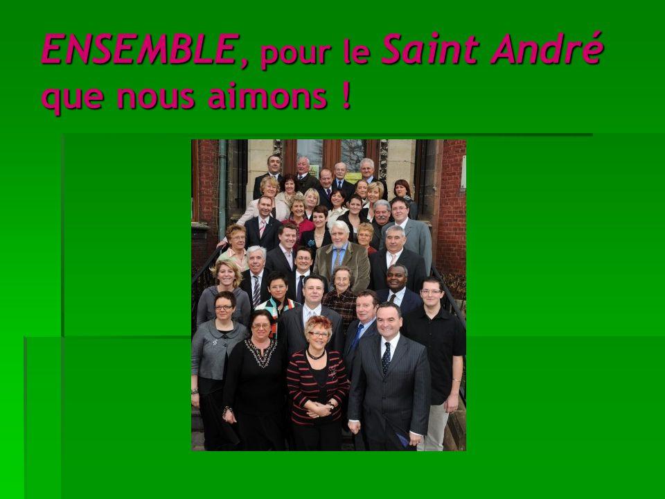 ENSEMBLE, pour le Saint André que nous aimons !