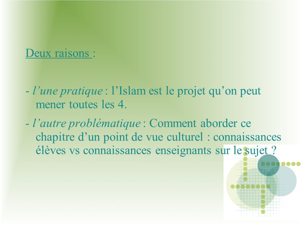 II) Analyse séquence histoire.Quest-ce quune religion .
