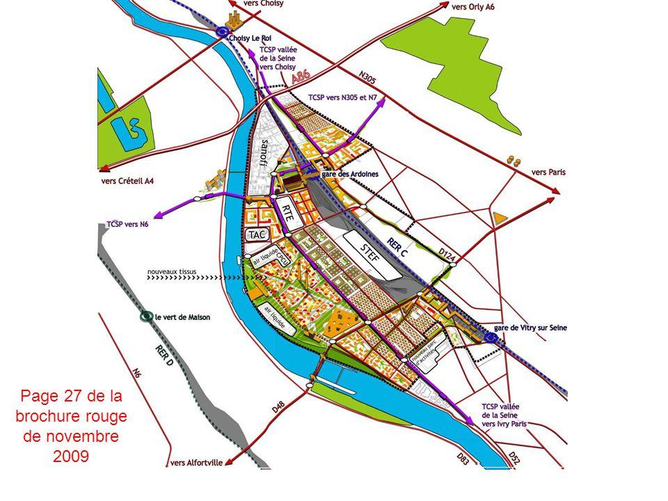 Pour mémoire, les esquisses des urbanistes lors de la rencontre du 8 décembre (sans reférence à létude MANGIN) l exigence forte de transports en commun de liaison Est Ouest, et pas seulement dans la logique d Orbival.