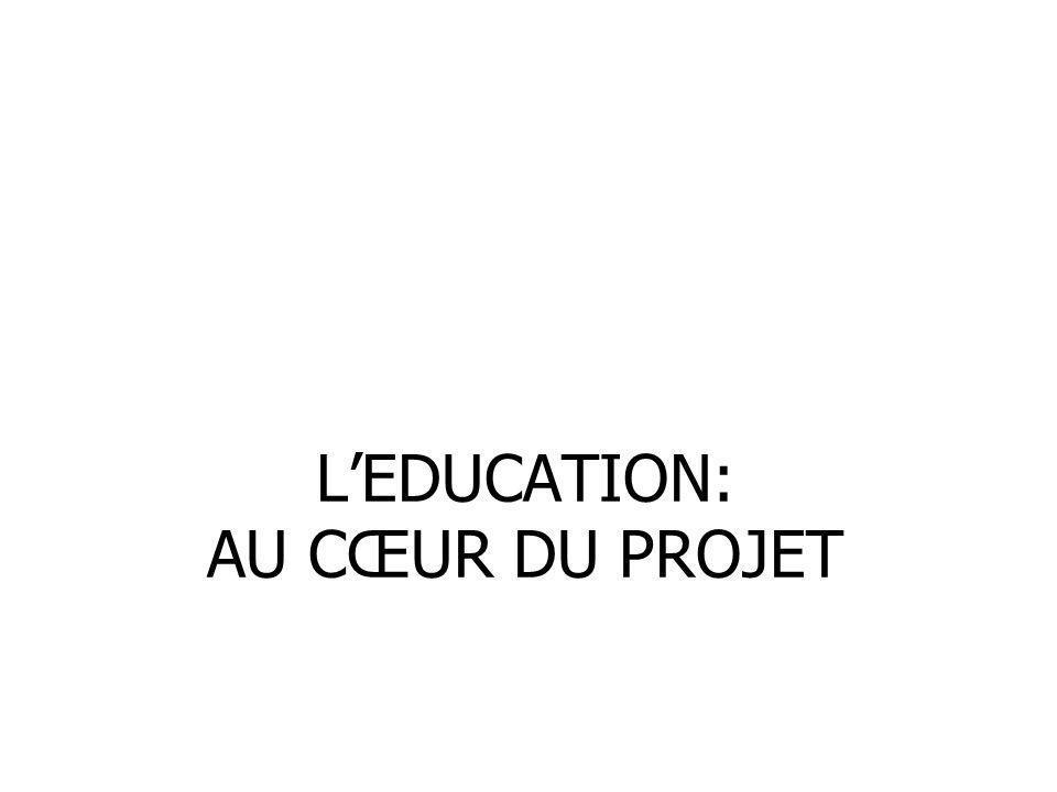 LEDUCATION: AU CŒUR DU PROJET