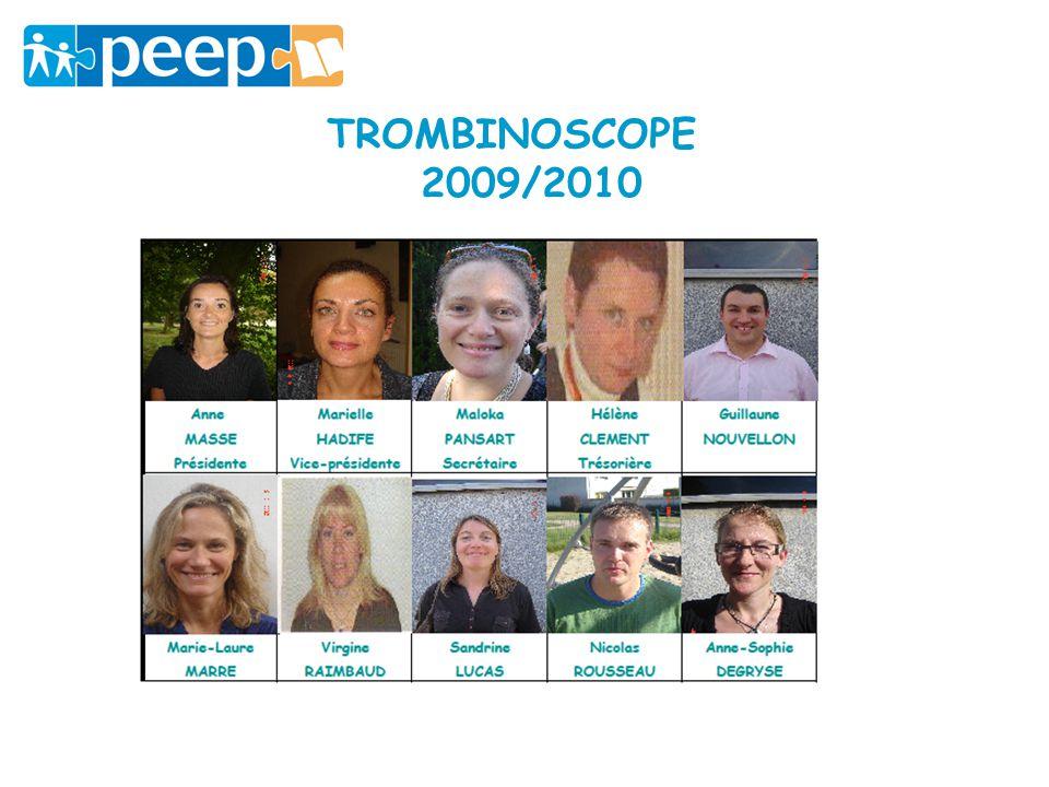 TROMBINOSCOPE 2009/2010