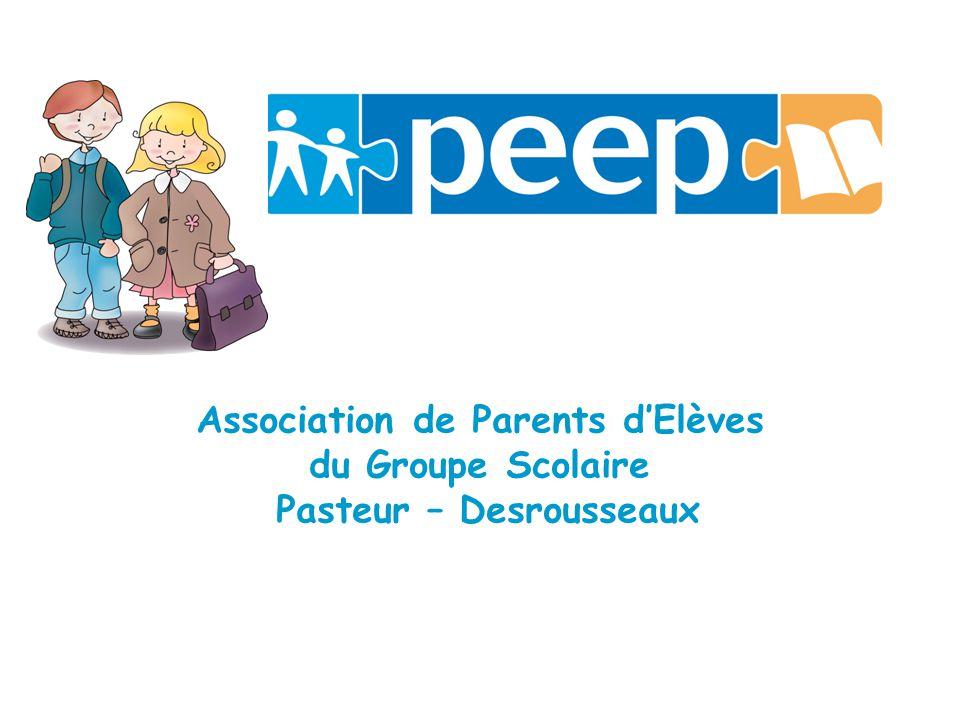 Association de Parents dElèves du Groupe Scolaire Pasteur – Desrousseaux