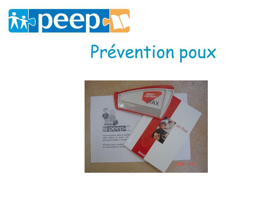 Prévention poux