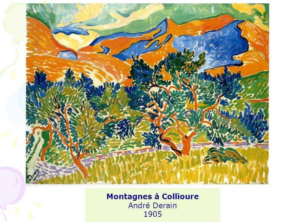 Montagnes à Collioure André Derain 1905