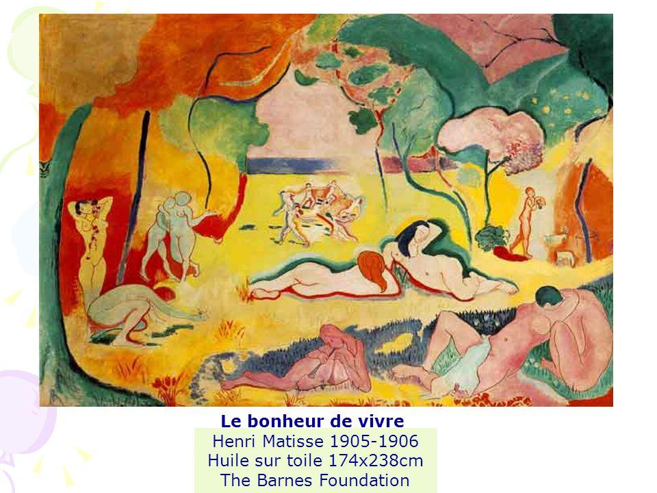 Le bonheur de vivre Henri Matisse 1905-1906 Huile sur toile 174x238cm The Barnes Foundation