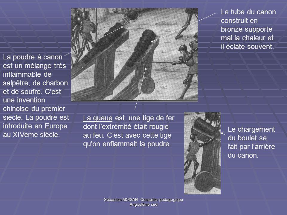 Sébastien MOISAN Conseiller pédagogique Angoulême sud La queue est une tige de fer dont lextrémité était rougie au feu. Cest avec cette tige quon enfl