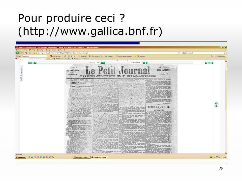 28 Pour produire ceci (http://www.gallica.bnf.fr)
