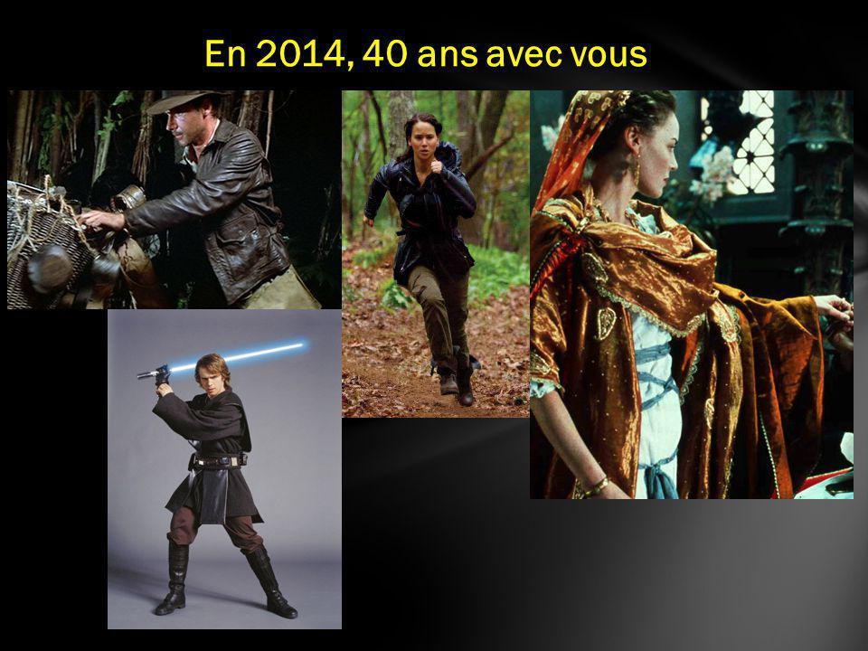 En 2014, 40 ans avec vous