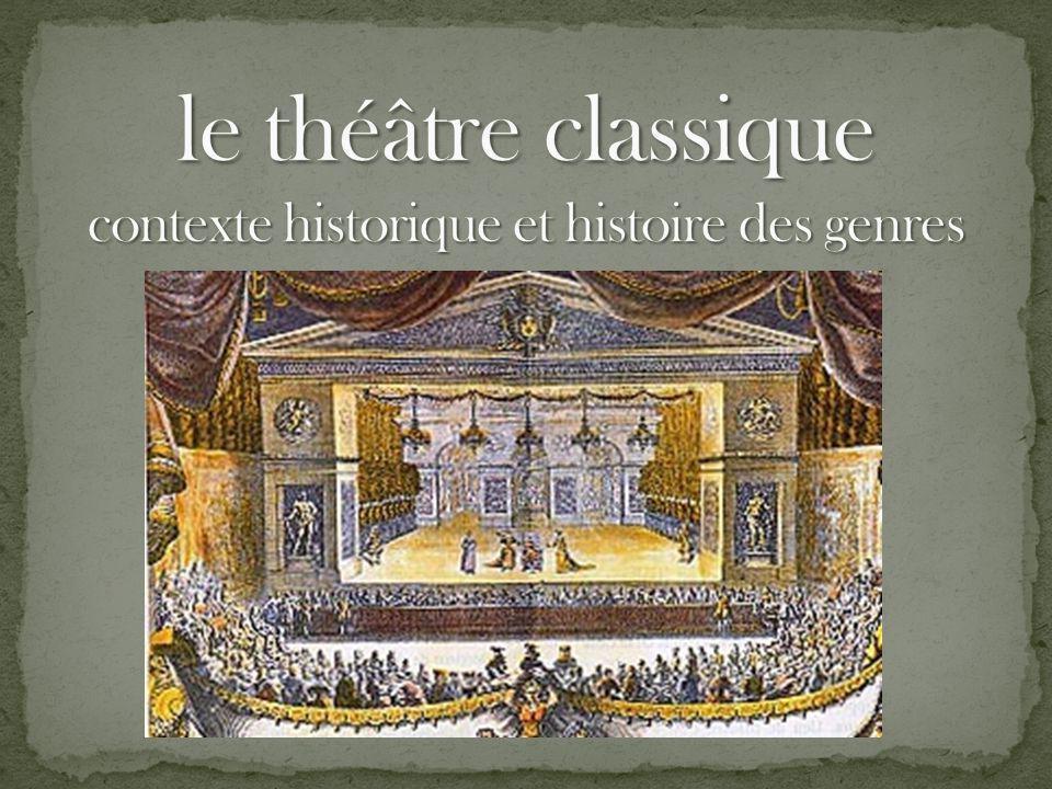 Contexte historique 05/01/2014 Théâtre classique Elsa JEANDEL Règne de Louis XIV