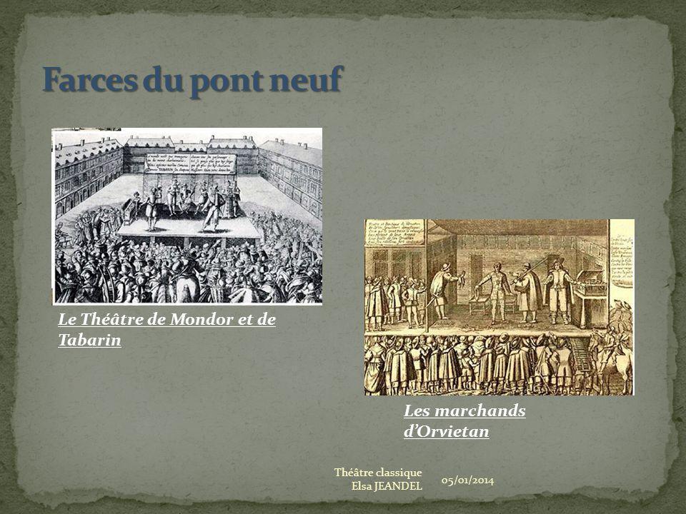 05/01/2014 Théâtre classique Elsa JEANDEL Les marchands dOrvietan Le Théâtre de Mondor et de Tabarin