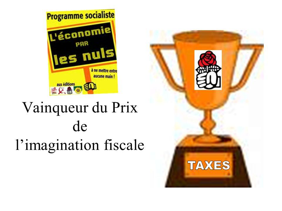 Vainqueur du Prix de limagination fiscale