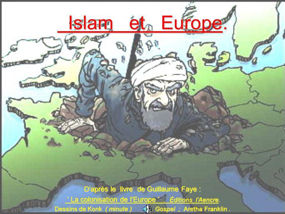 Islam et Europe. Islam et Europe. Daprès le livre de Guillaume Faye : La colonisation de lEurope. Éditions lAencre. La colonisation de lEurope. Éditio