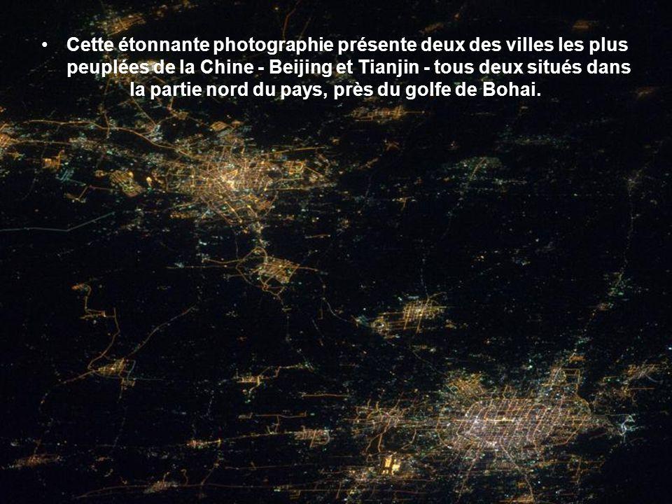 Arrivé de la nuit sur l Europe et l Afrique