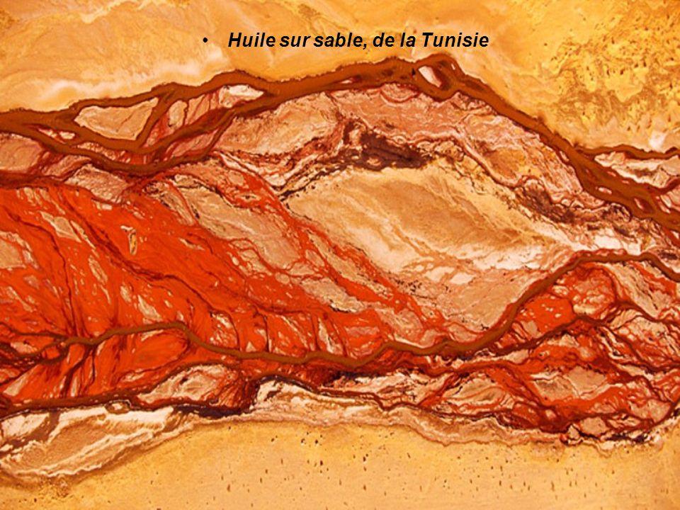 Huile sur sable, de la Tunisie