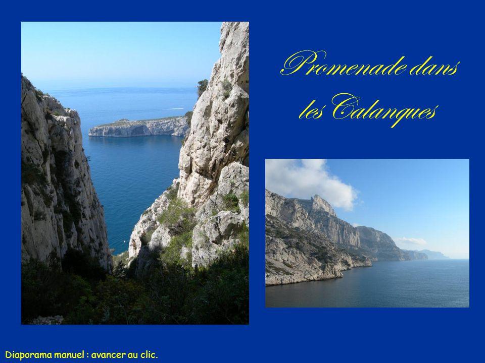 Promenade dans lesCalanques Musique : Era «Conquest of Paradise » Diaporama manuel : avancer au clic.