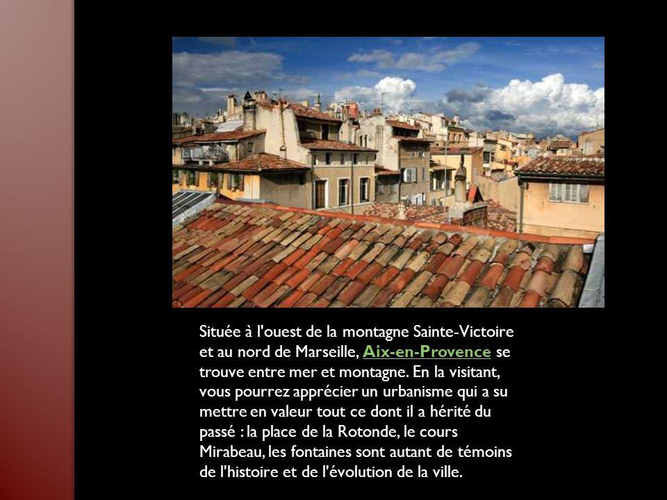 Surplombant majestueusement la ville d'Aubagne, dans le département des Bouches- du-Rhône, le Garlaban culmine à 714 mètres. Ce lieu a particulièremen