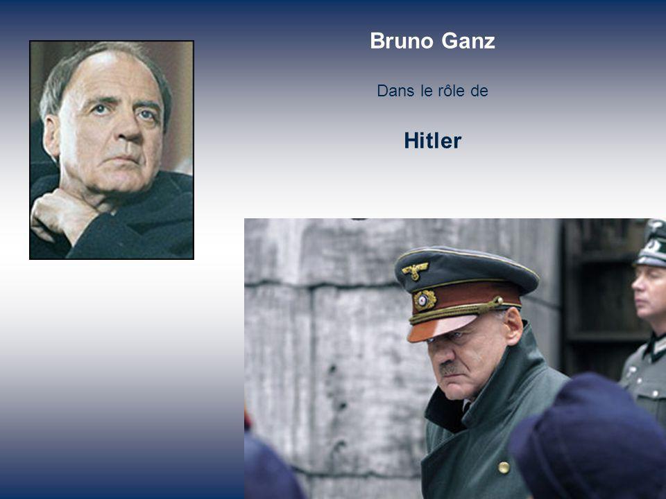 A ses côtés, Traudl Junge, la secrétaire particulière du Führer, refuse de l abandonner.