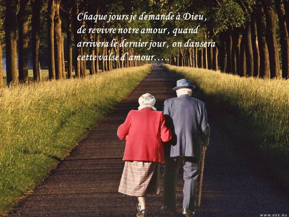 Tu sais on a bien vieillis, surtout je ne regrette rien, ces années lun contre lautre, ton cœur réchauffant le mien….