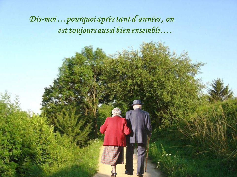 Je vois briller dans tes yeux, le plus beau de mes souvenirs, tu seras ma seule aventure, sur notre amour, je te le jure…..