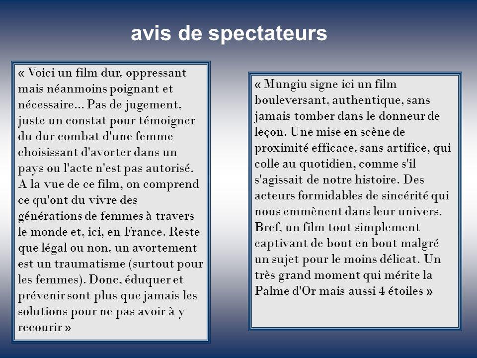 Le Nouvel Observateur XXXX Cahiers du Cinéma XXXX Positif XXXX Paris Match XXXX L'Humanité XXXX Le Figaro XXXX Télérama XXXX Libération XXXX Les Inroc