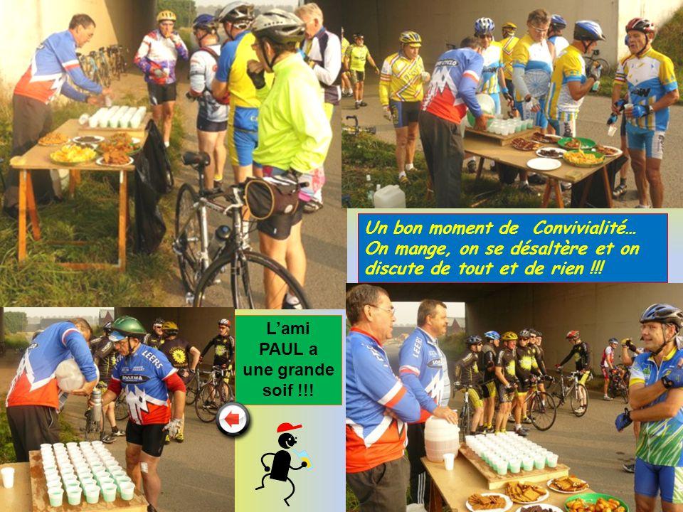 Une équipe féminine bien sympathique et souriante pour accueillir les cyclos et cyclotes du jour !.