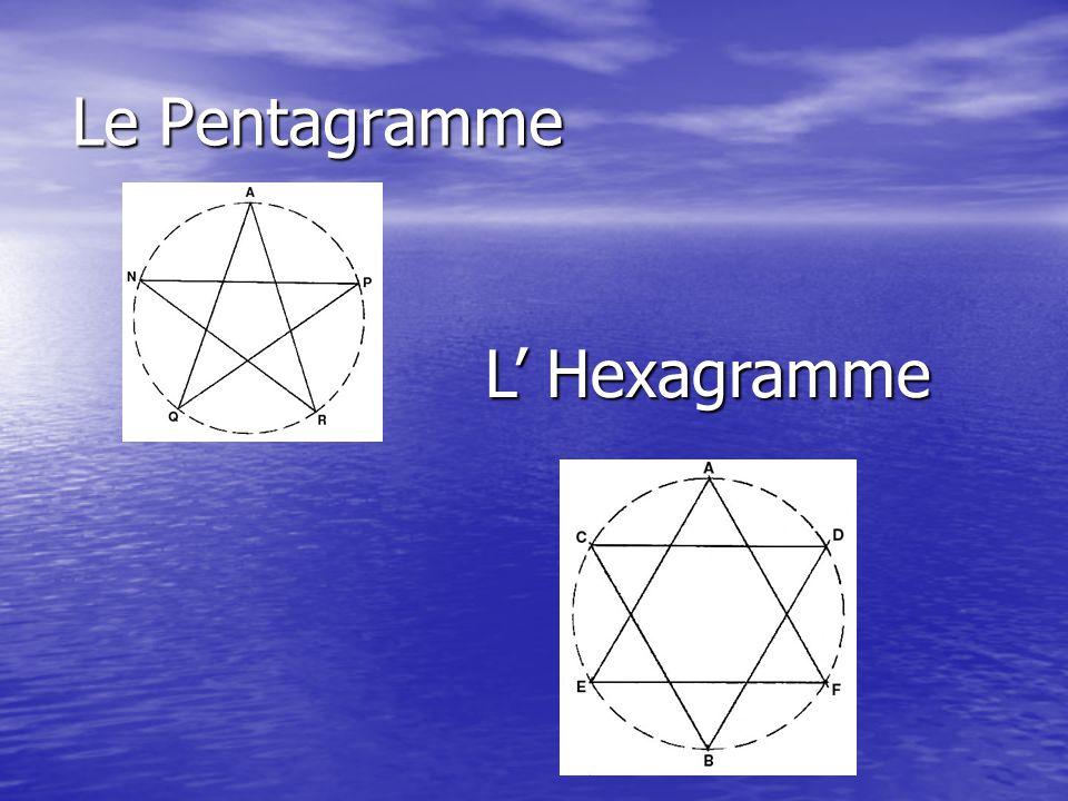 Comment tracer un pentagramme Afin que ceux-ci soient bien faits, je vous donne une méthode géométrique simple pour les tracer.